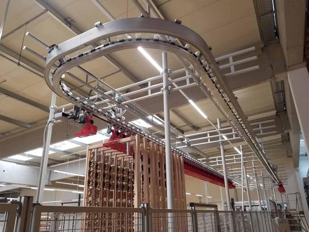 Hängefördertechnik Industrie